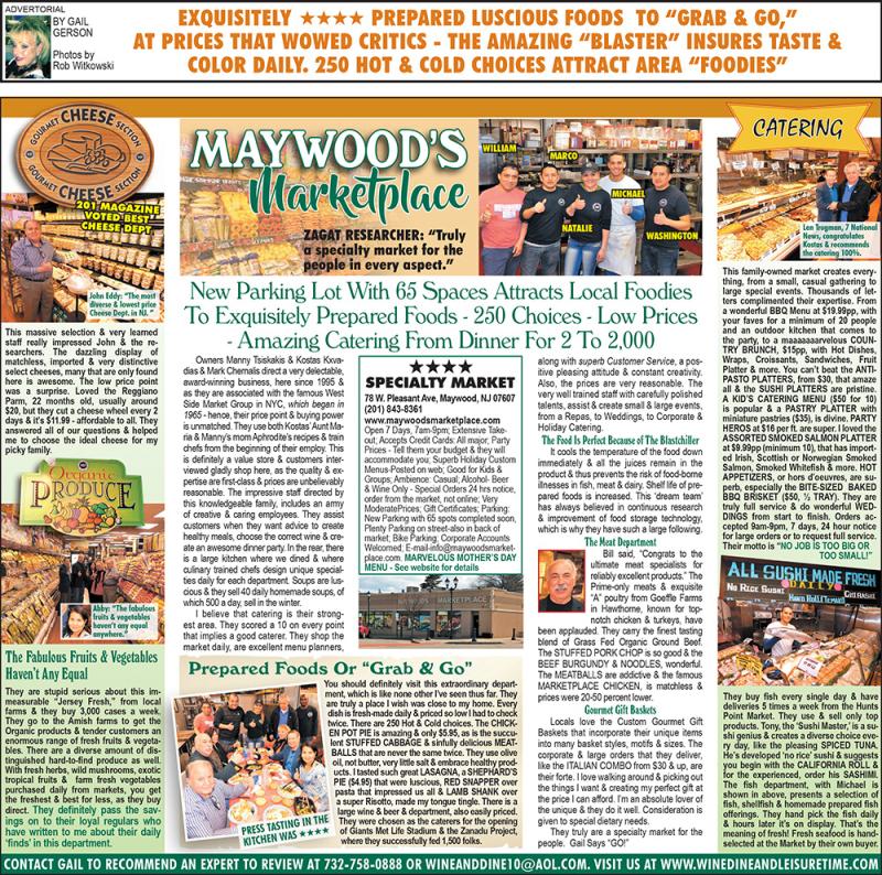 Maywood market-finally